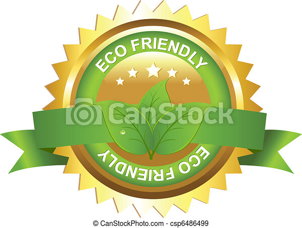 Eco Friendly Sign - csp6486499
