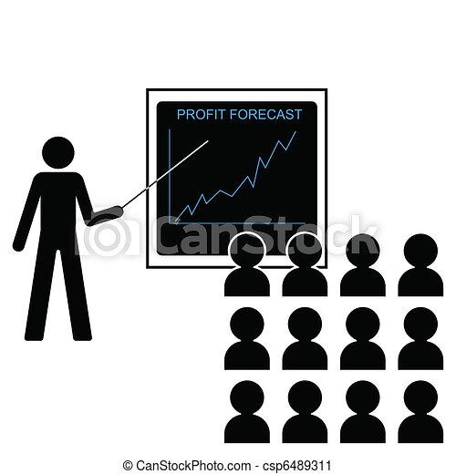 increasing profit margins - csp6489311