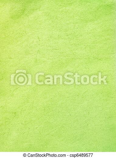 Green color paper texture.