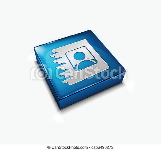 user directory web icon - csp6490273