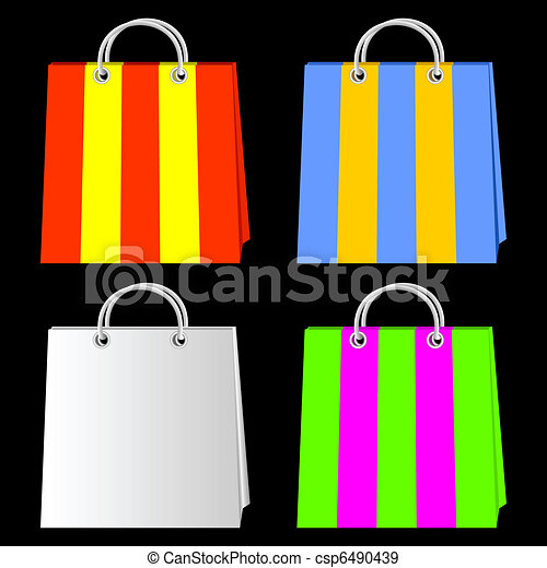 Bags for purchases. - csp6490439