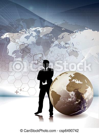 Corporate Business Flyer/postar  - csp6490742