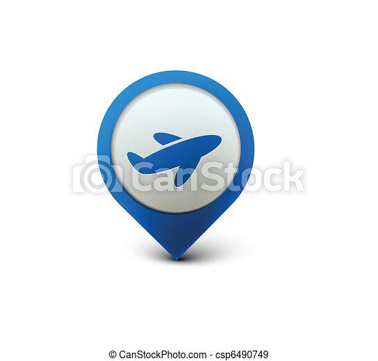 travel web icon - csp6490749