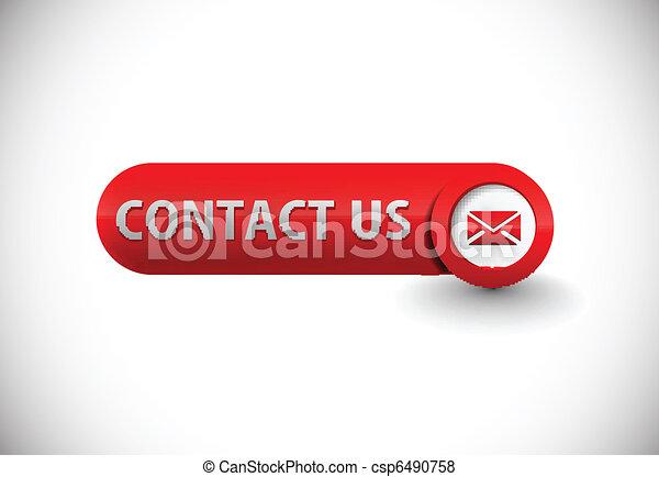 web contact icon - csp6490758