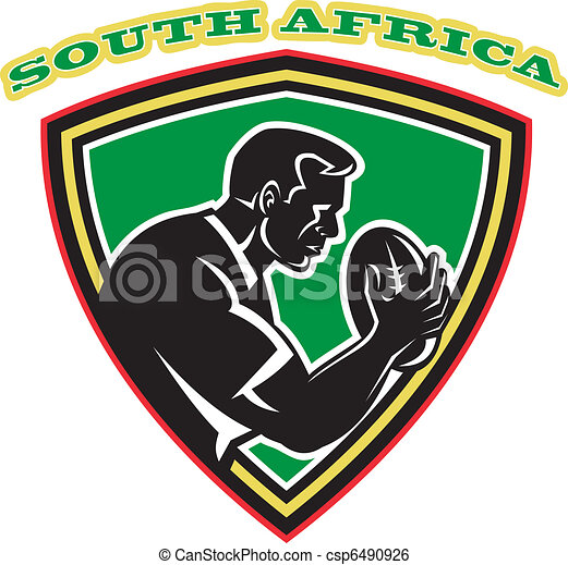 rugby player south africa - csp6490926