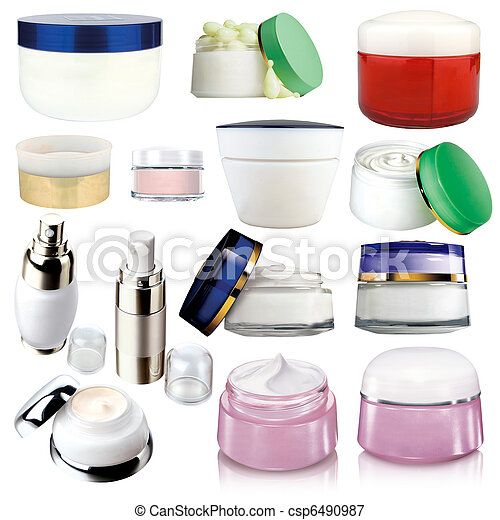 Cosmetics cream packs - csp6490987
