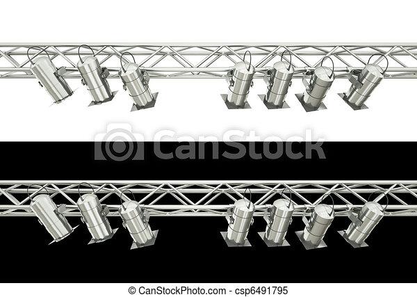 Stage lighting - csp6491795