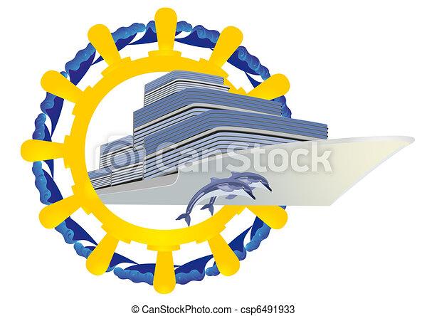 Journey on the seas - csp6491933