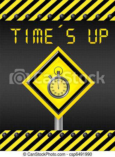 time is up signal - csp6491990