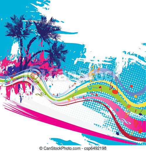 Tropical vector design - csp6492198