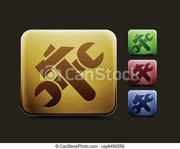 setting icon set - csp6492256