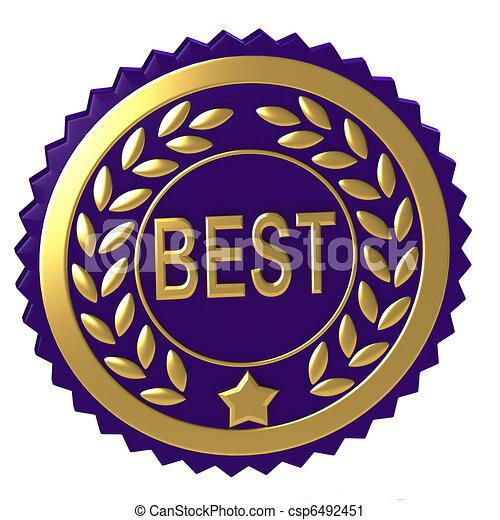 Purple award - csp6492451
