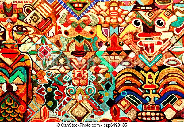 抽象的, art. - csp6493185