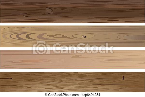 wooden planks - csp6494284