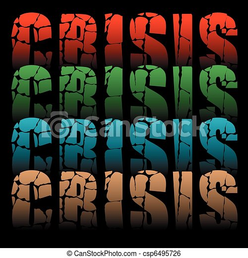 word crisis - csp6495726