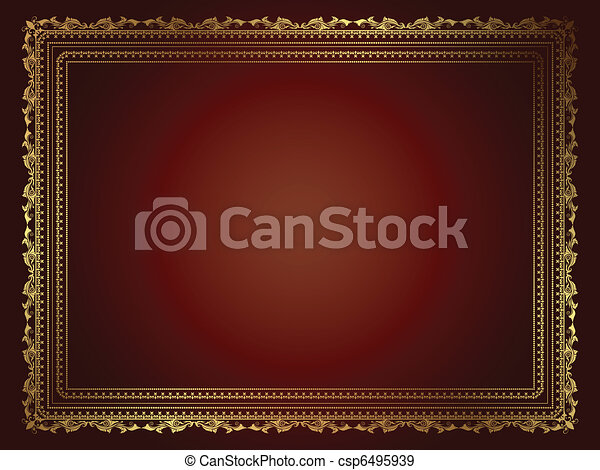 Decorative background - csp6495939