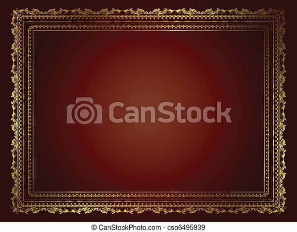 Decorative background - csp6495939