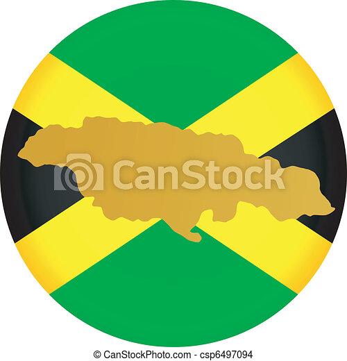 Button Jamaica - csp6497094