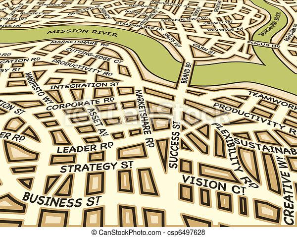 Angled success map - csp6497628