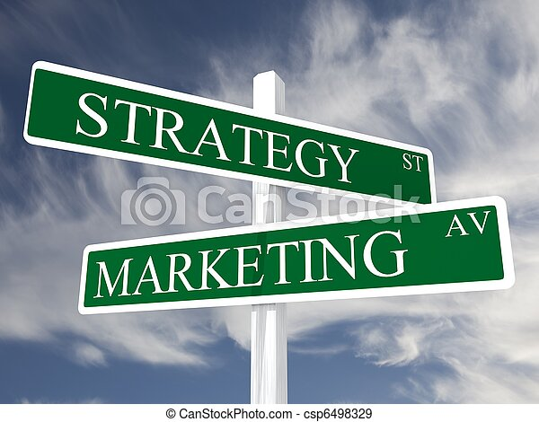 Marketing business sales - csp6498329