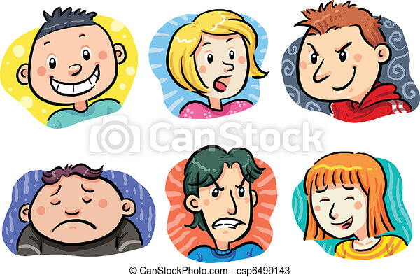 People Expressions - csp6499143