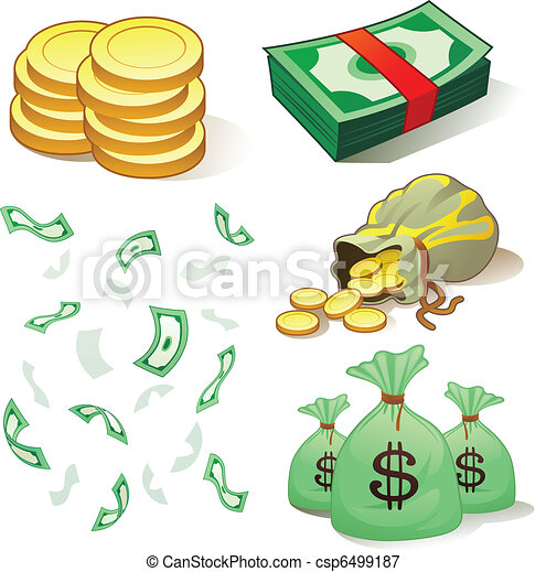 Money And Coins - csp6499187