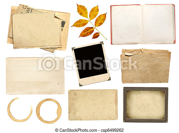 Collection elements for scrapbooking - csp6499262