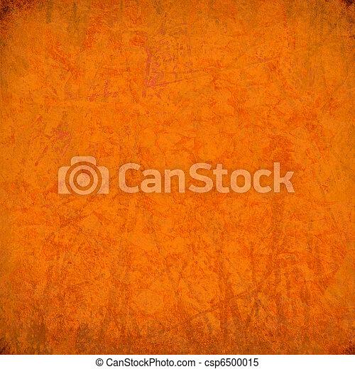 Grunge orange streaked background - csp6500015