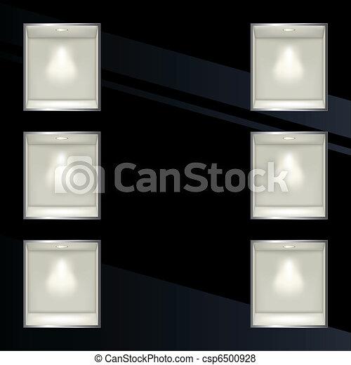 Wall display frame - csp6500928