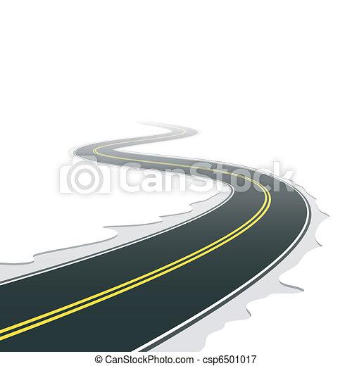 Winding road - csp6501017