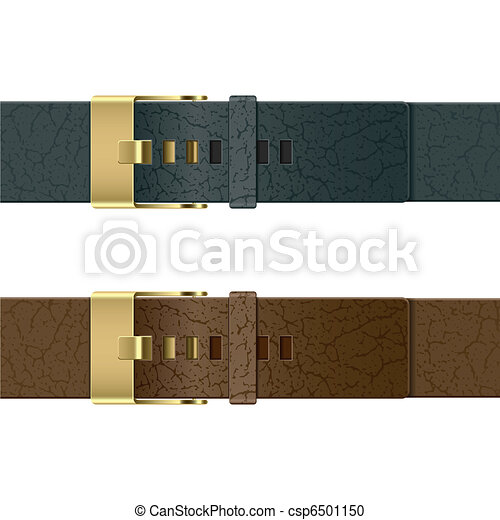 Leather belt - csp6501150