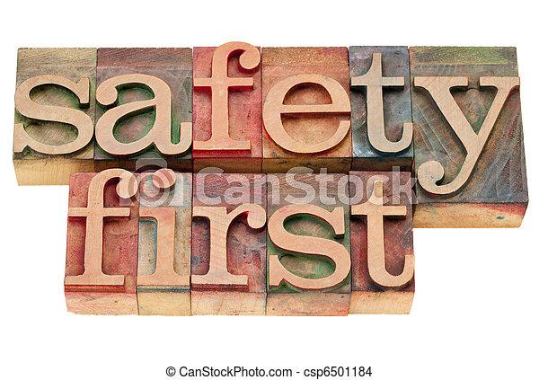 säkerhet, typ, boktryck, första - csp6501184