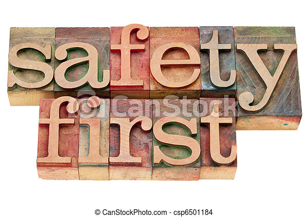 segurança, tipo, letterpress, primeiro - csp6501184