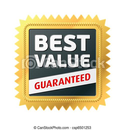 Best Value label - csp6501253