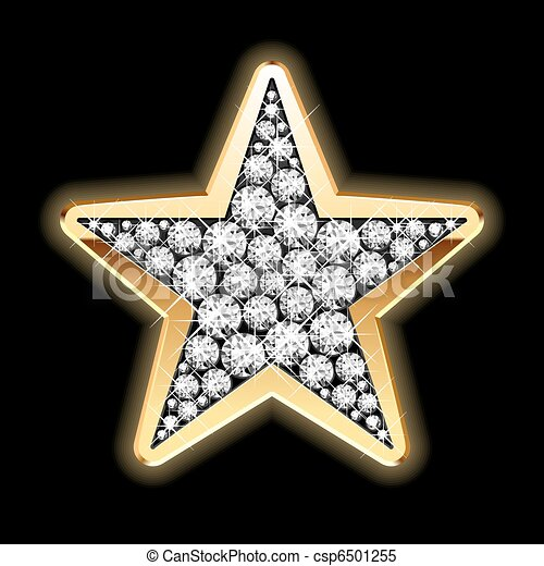 Star in diamonds - csp6501255