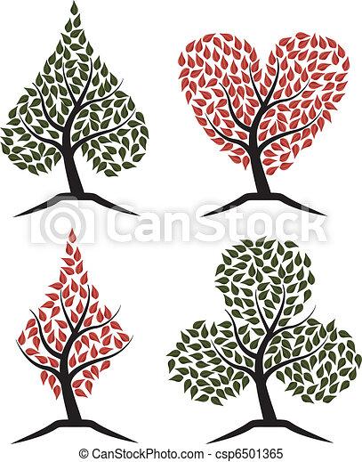 suit poker tree - csp6501365
