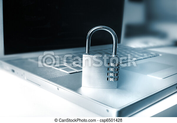 sicurezza,  computer, tecnologia - csp6501428