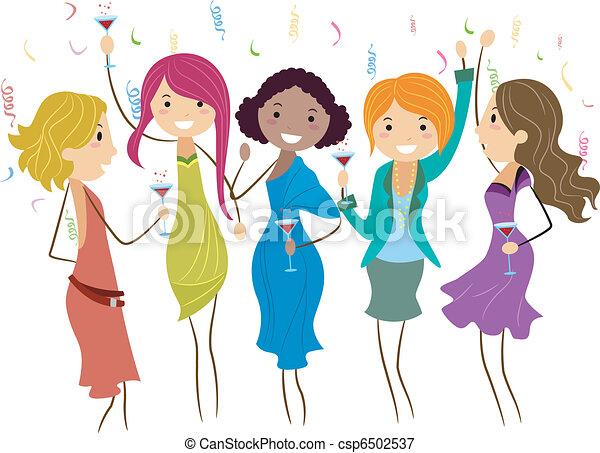 Bachelorette Party - csp6502537
