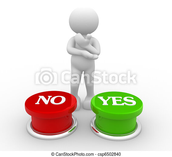 """""""Yes""""or """"no"""" - csp6502840"""