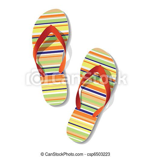 Pair of flip flops - csp6503223