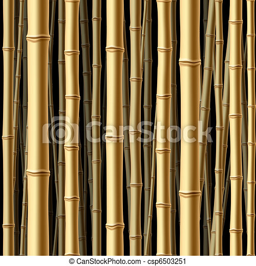 Seamless bamboo forest - csp6503251