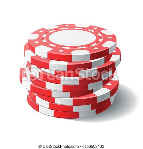 Gambling chips - csp6503432