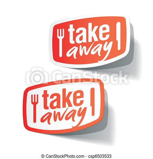 Takeaway labels - csp6503533