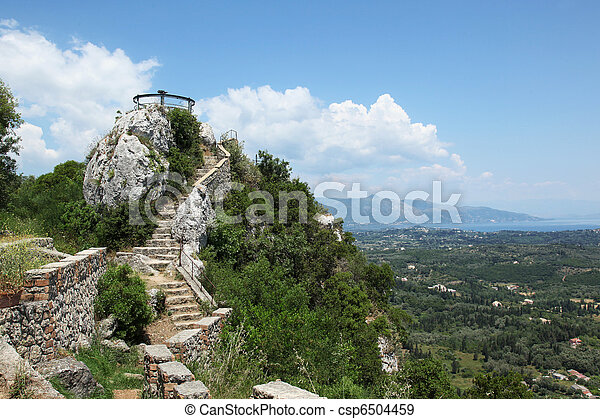 Kaizers Throne Corfu - csp6504459