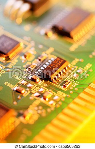 Circuit board abstract background - csp6505263