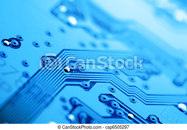 Circuit board abstract background - csp6505297