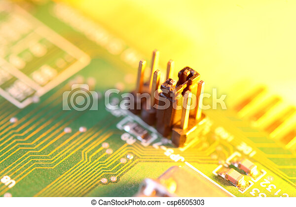 Circuit board abstract background - csp6505303