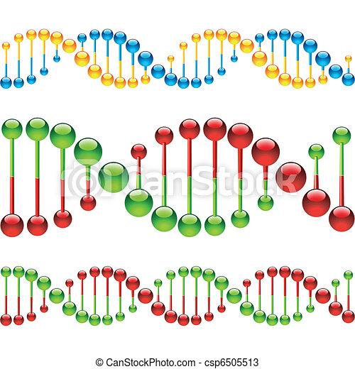 Seamless DNA strands - csp6505513