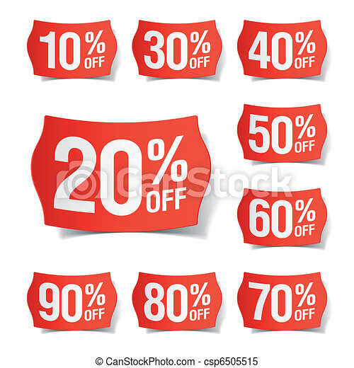 Discount price tags - csp6505515