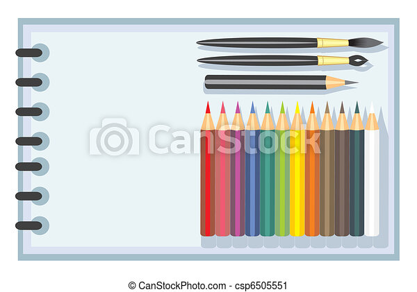 set for children's creativity - csp6505551